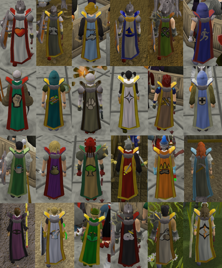 Master skillcapes